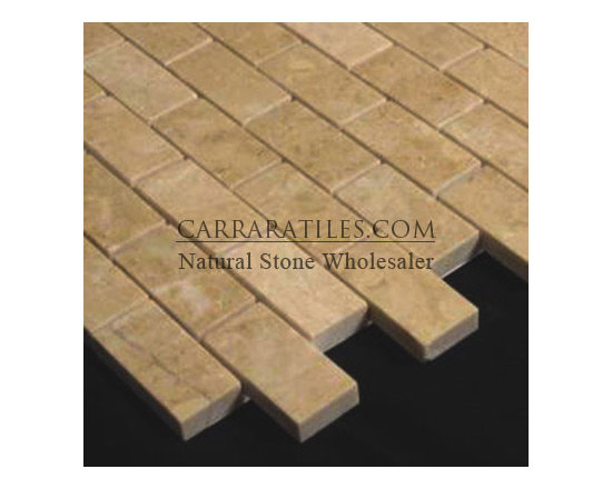 Crema Marfil Marble 1x2 Mosaic Tile Polished - Crema Marfil Marble 1x2 Mosaic Tile. Premium grade marble 1x2 mosaic tile is perfect for both residential and commercial projects. Marble 1x2 Mosaic Tiles are mainly preferred as floor tiles for their clean, aesthetic qualities. A large selection of coordinating products are available, including Crema Marfil basketweave mosaics, Crema Marfil herringbone mosaics, Crema Marfil hexagon mosaics, 3x6 Crema Marfil marble subway tiles, 12x12 Crema Marfil marble tiles, 4x4 Crema Marfil marble tiles, Crema Marfil borders, Crema Marfil moldings and Crema Marfil baseboards, each available in polished finish