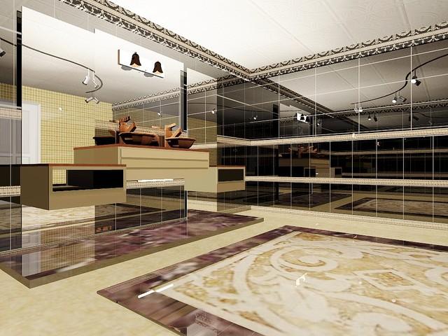 BATHS 3D CONCEPTUAL DRAWINGS modern