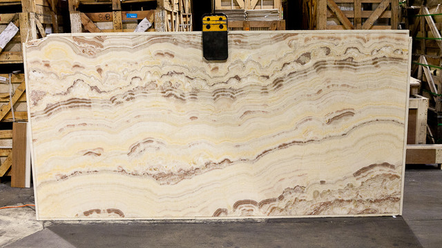 Exotic Countertop Materials : Exotic Italian Onyx Slab from Royal Stone & Tile in Los Angeles ...
