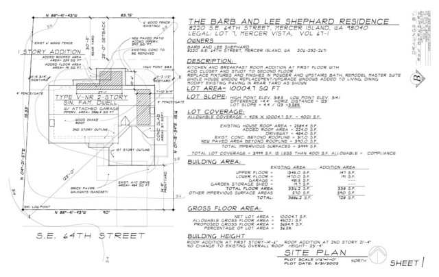 Miscellaneous Remodel Drawings contemporary
