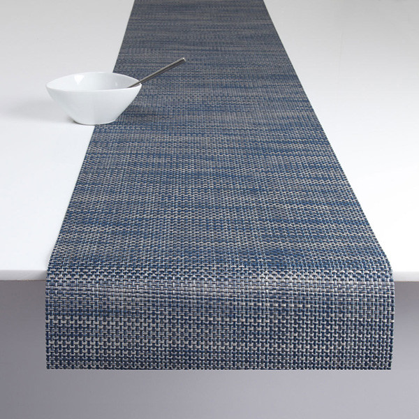 Chilewich Basketweave Table Runner Contemporary