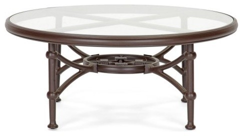 Caluco Origin Round Coffee Table traditional-outdoor-tables