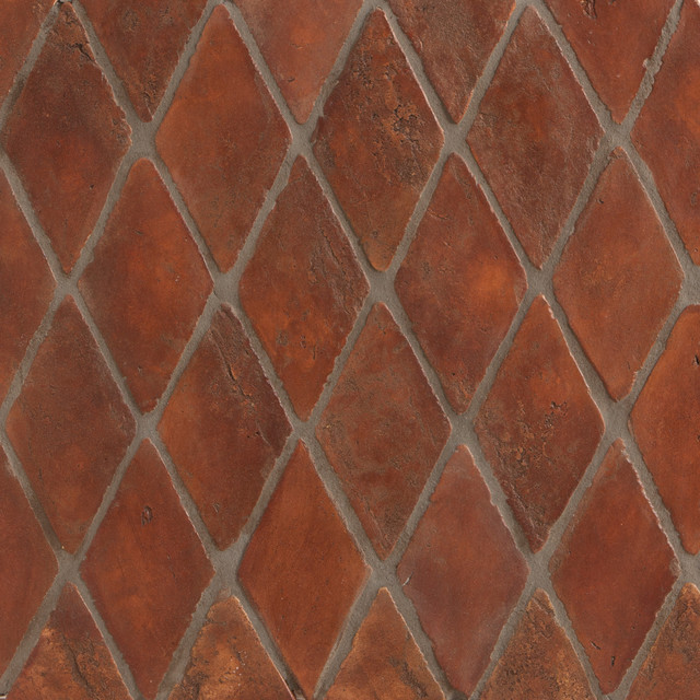Spanish Stained Terracotta Tiles Mediterranean Floor Tiles