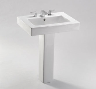 toto pedestal bathroom sink contemporary bathroom sinks by