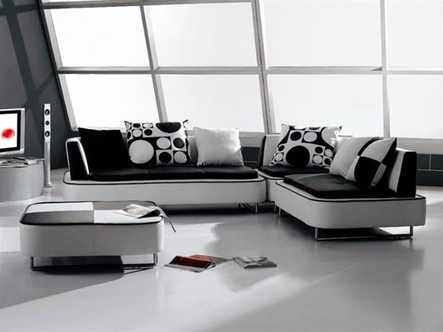 Unique Full Italian Leather Sectionals Contemporary
