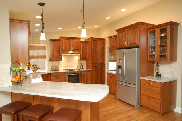 90s Kitchen Updated Traditional Boise By Keilty