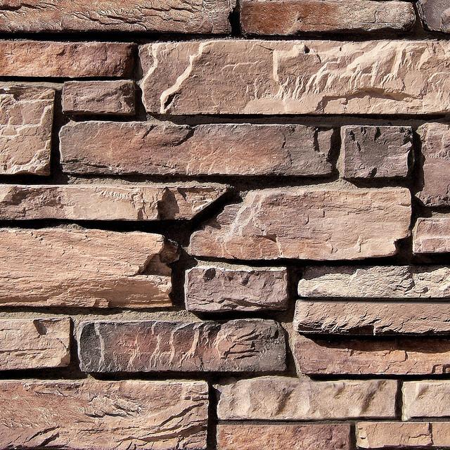 Modern Stone Veneer : Coronado old world ledge stone color brookside