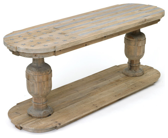 Reclaimed Raceway Console rustic-console-tables
