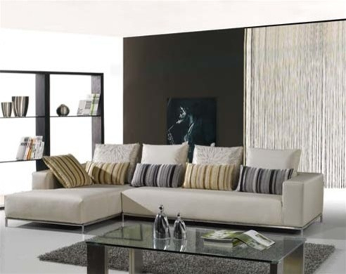 Martino Leather Sectional S309 Modern Sectional Sofas