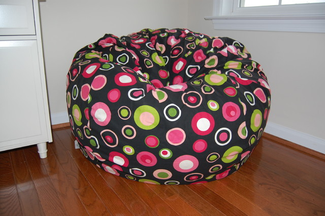 Bean Bag Chairs for Girls Rooms traditional