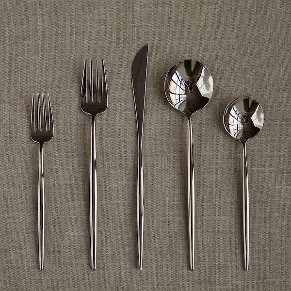 Cutipol Moon Cutlery - 5 Pcs modern-flatware