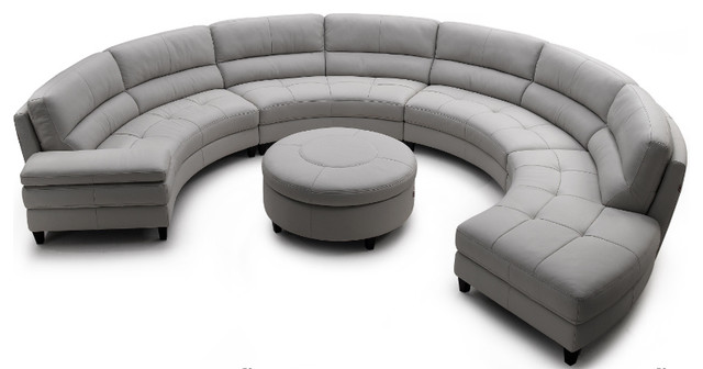 contemporary sectional sofas by Wasser's