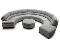 Pavoncello Rotunda, 3-Piece Round Sectional contemporary sectional sofas
