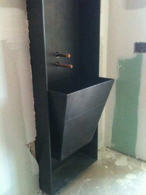 Private Residence, Prescott AZ modern-bathroom-vanities-and-sink-consoles