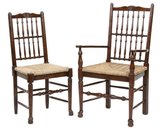 Antique style spindle back dining chair - Antique style spindle back dining chair