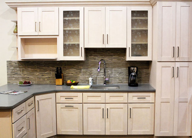 Coline Cabinetry - Contemporary - Kitchen Cabinetry - boston - by LP ...