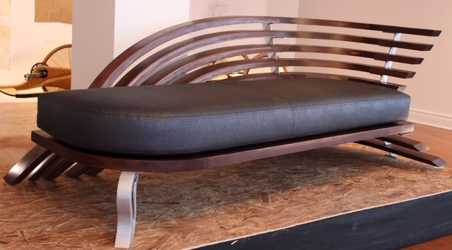 Loungueur contemporary day beds and chaises montreal by hayes nulman - Chaise design montreal ...