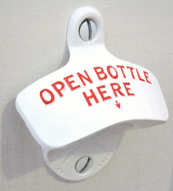 Wall Mounted Bottle Opener eclectic-specialty-tools