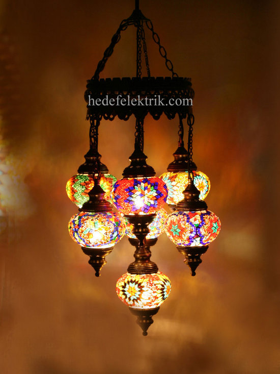 Turkish Style - Mosaic Lighting - Code: HE-94527_63
