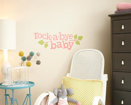 "Baby Nursery - Duplicate this look using Uppercase Living's vinyl expressions and embellishments! Available in 3 sizes. (18"" x 6.25"" $34.95) Direct link: http://jeand.uppercaseliving.net/DesignItems.m?DesignId=4803&MenuLinkKey=products&CategoryId=42"