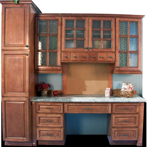 Brown Kitchen Cabinets  Sienna Rope Door Style  Kitchen Cabinet