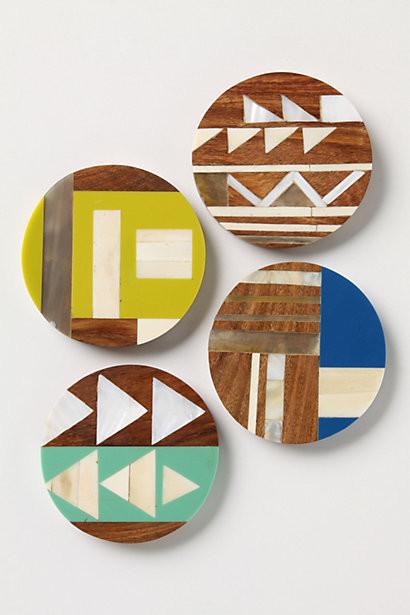 Symbology Coasters contemporary-coasters