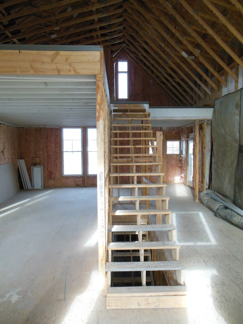 Maintaining light in loft for How to build a 2nd story floor