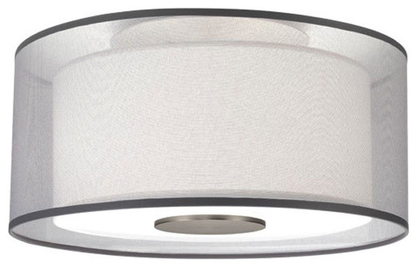 Saturnia Semi Flush Ceiling Mount by Robert Abbey contemporary-flush-mount-ceiling-lighting