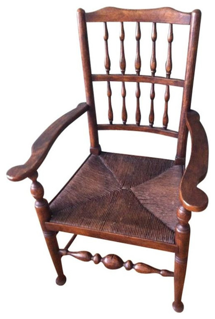 SOLD OUT Antique English Country Spindle Back Dining Chairs 2 500 Est Retai