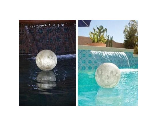 Game Solar Lighted Globe Chlorinator - -Absorbs sun during the day to glow at night