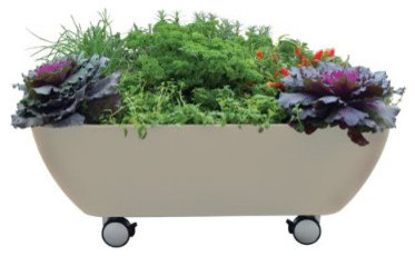 Garden365 Mobile Garden contemporary outdoor planters