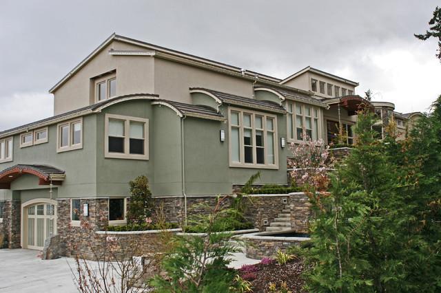 Contemporary pacific northwest custom home contemporary for Pacific northwest homes