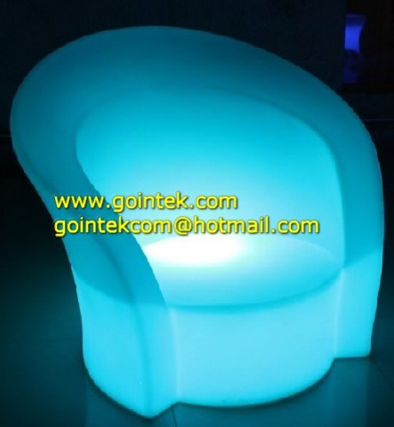 LED European Style Sofa With Light Color Change modern-furniture