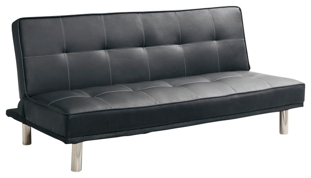 What Is The Most Popular Mattress Sold Monarch Specialties 9022 Click Clack Futon in Black ...
