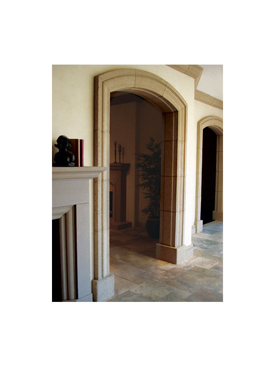 Moldings & Archways - Aggrestone cladding for Interior/Exterior archways or crown molding.