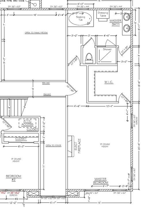 Need bedroom layout help for 6x6 room design
