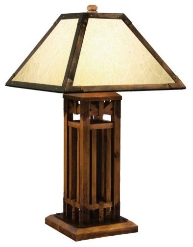 Yellowstone Lodge Table Lamp modern-table-lamps
