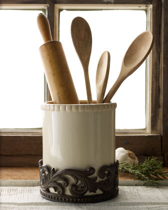 Utensil Holder Traditional Utensil Holders And Racks By Horchow