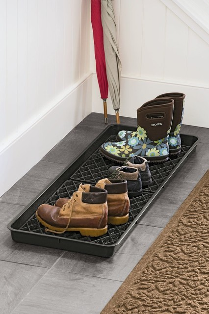 Large Boot Tray Set Traditional Closet Storage by  : traditional clothes and shoes organizers from www.houzz.com size 426 x 640 jpeg 74kB