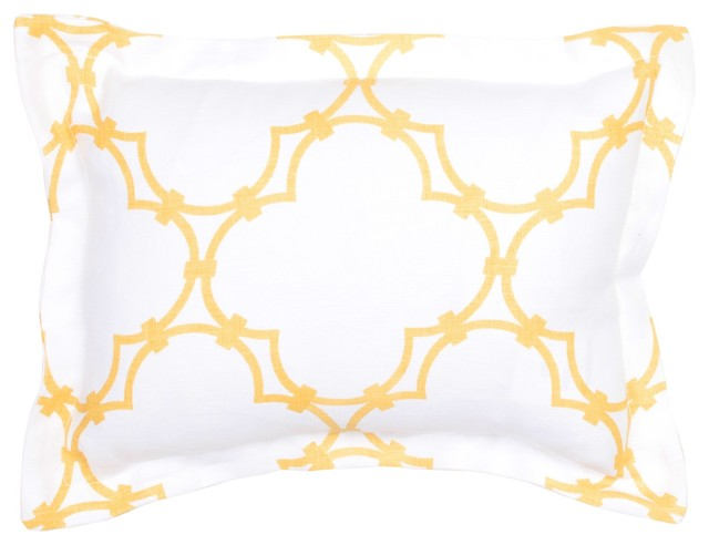 Quatrefoil Bedding mediterranean bed pillows