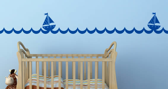 Kids and Nursery wall decals contemporary-kids-wall-decor