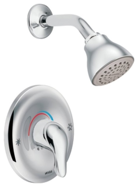 Moen TL182 Chateau Posi Temp Single Handle Shower Faucet Trim In Chrome Tra