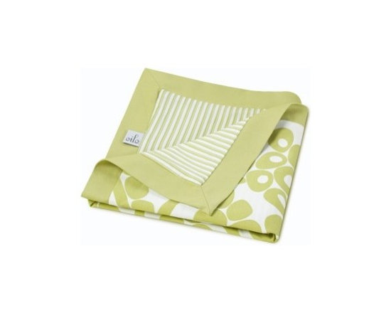 Oilo Modern Berries Play Blanket-Spring Green - Oilo Modern Berries Play Blanket-Spring Green