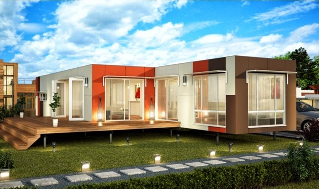 valencia 3 bedroom modular home prefabricated homes modern