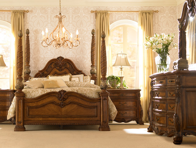 Villa Clare Master Bedroom Traditional Other Metro By Havertys Furniture