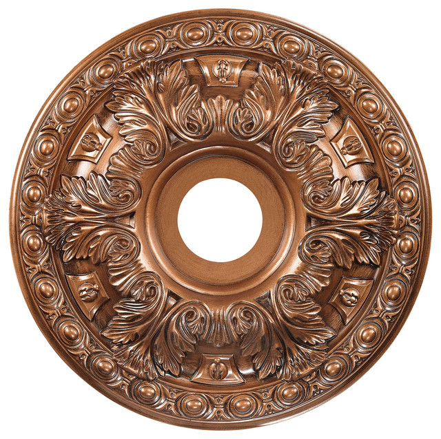 Pennington small decorative medallion in antique bronze victorian ceiling medallions by for Architectural medallions exterior
