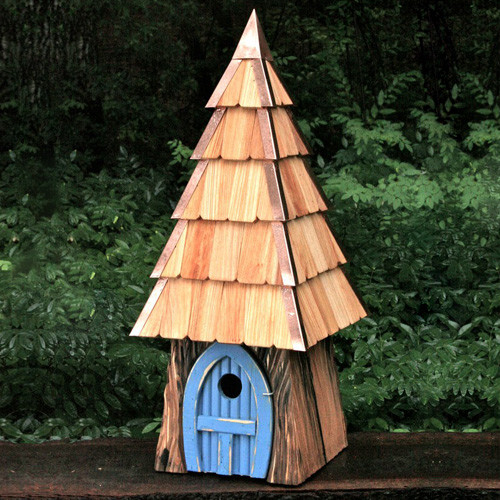 Lord of the Wing Bird House contemporary-bird-baths