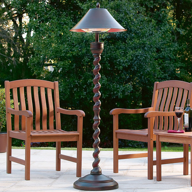 Outdoor Patio Heater Lamp At Brookstone Traditional Patio Heaters