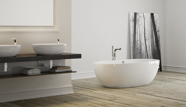 Victoria & Albert Barcelona bathtub and vessels modern-bathtubs