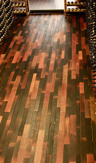 Reclaimed DesignWorks Sustainbale Wood Floors traditional wood flooring